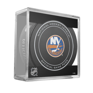 New York Islanders Official Game Puck (2012 to 2016)