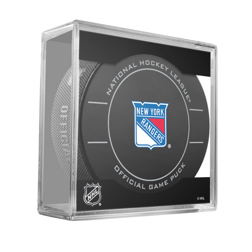 New York Rangers Official Game Puck (2009 to 2011)