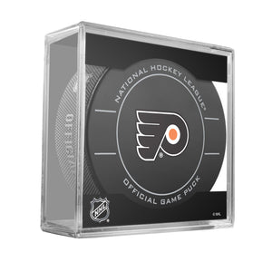Philadelphia Flyers Official Game Puck (2009 to 2011)