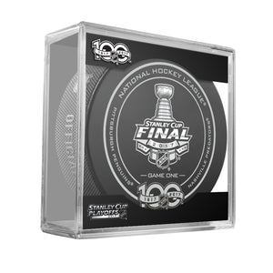 2017 Stanley Cup Final Puck Bundle (Pittsburgh vs. Nashville)