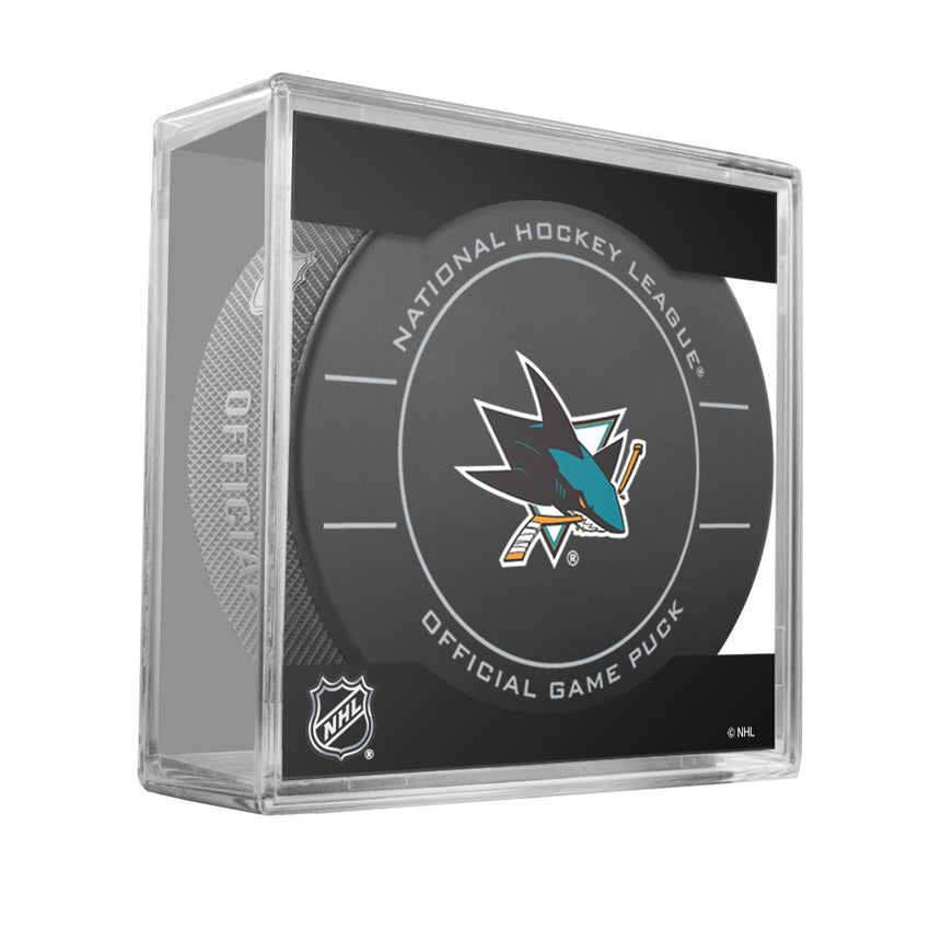 San Jose Sharks Official Game Puck (2009 to 2011)