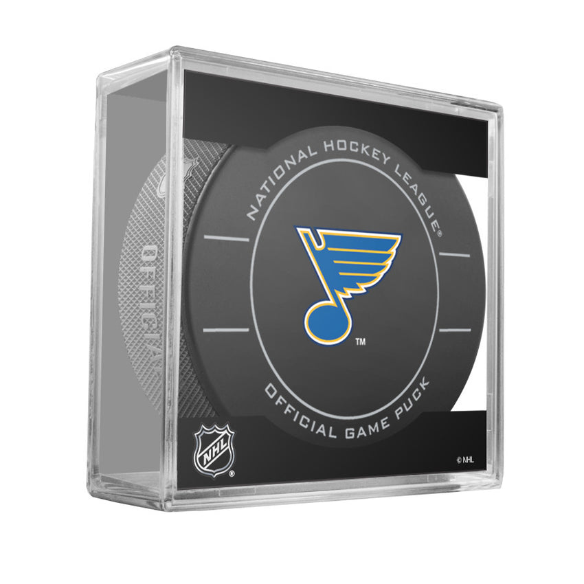 St. Louis Blues Official Game Puck (2009 to 2011)