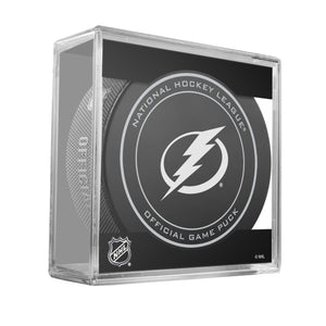 Tampa Bay Lightning Official Game Puck (2012 to 2016)
