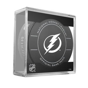 Tampa Bay Lightning Official Game Puck (2009 to 2011)