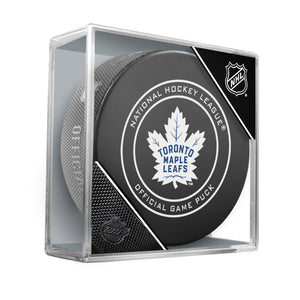 Toronto Maple Leafs 2018 Official NHL Game Puck