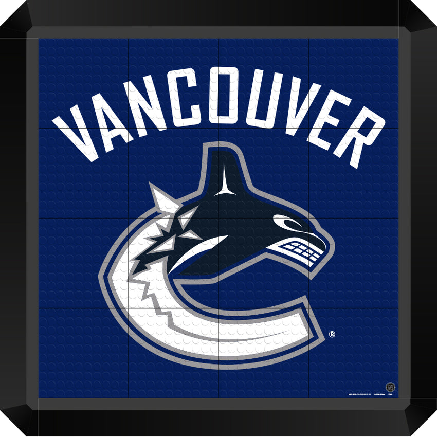 Vancouver Canucks Floor Tiles