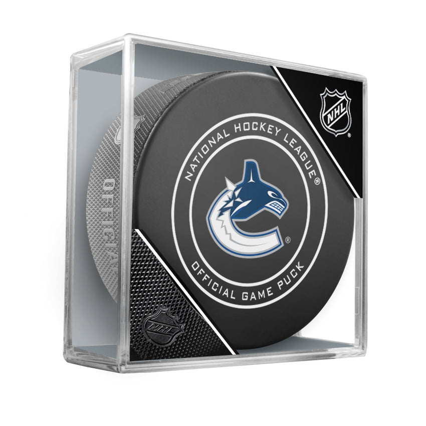 Vancouver Canucks 2018 Official NHL Game Puck