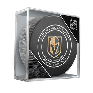 Vegas Golden Knights 2018 Official NHL Game Puck