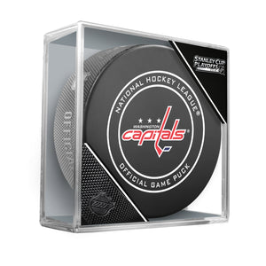 2018 Washington Capitals Stanley Cup Playoffs Official Game Puck