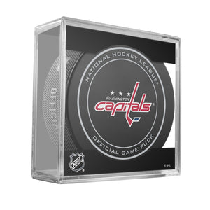 Washington Capitals Official Game Puck (2012 to 2016)