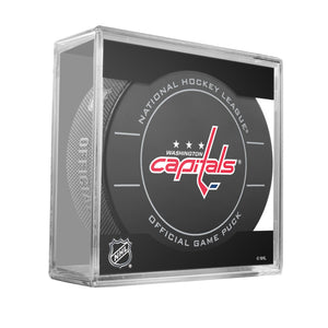 Washington Capitals Official Game Puck (2009 to 2011)