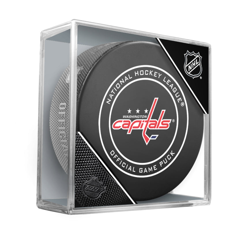 Washington Capitals 2018 Official NHL Game Puck