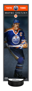 NHL Alumni Wayne Gretzky Deco Plaque With Puck Holder