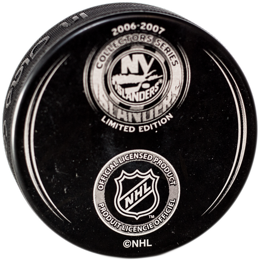 New York Islanders Limited Edition Puck 2006-07