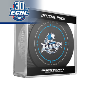 Wichita Thunder Official Puck ECHL 30th Anniversary