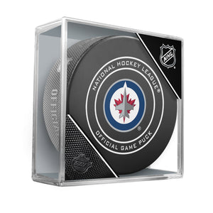 Winnipeg Jets 2018 Official NHL Game Puck