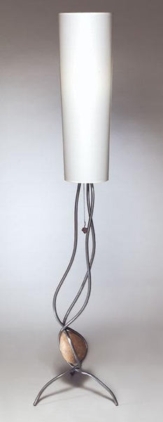 Free Form One Stone Floor Lamp