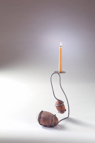 balancing table candle holder … the original