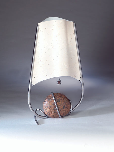 tapered sail table lamp