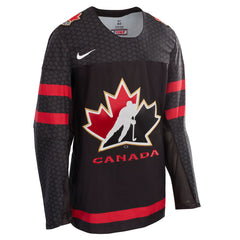 Team Canada's New 3rd Black Jersey