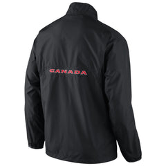 Team Canada Nike Knit Coach Half-Zip - Black - teamcanada - 1