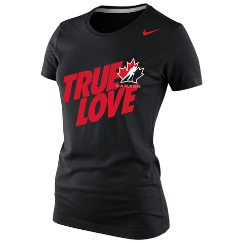 Team Canada Nike Women's Scoring Triblend 1.3 - Black - teamcanada - 1