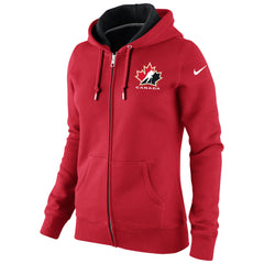 Team Canada Nike Women's Classic Full-Zip Hoody 1.3 - Red - teamcanada - 1