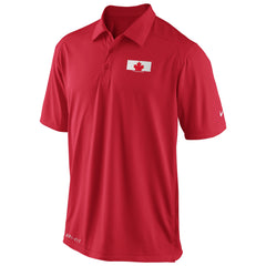 Team Canada Nike Olympic Coaches Polo 1.3 - Red - teamcanada - 1