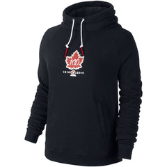 Team Canada Nike 100th Anniversary Women's Rally Funnel Hoody - teamcanada - 1