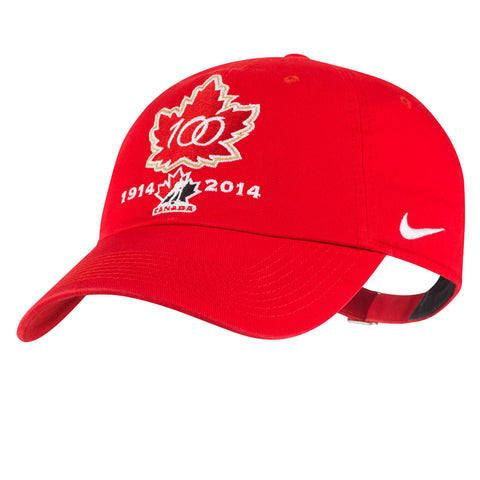Team Canada Nike 100th Anniversary Women's Rink Cap - teamcanada - 1