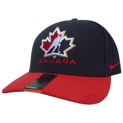 Team Canada Nike Black Classic 99 Adjustable Cap - teamcanada