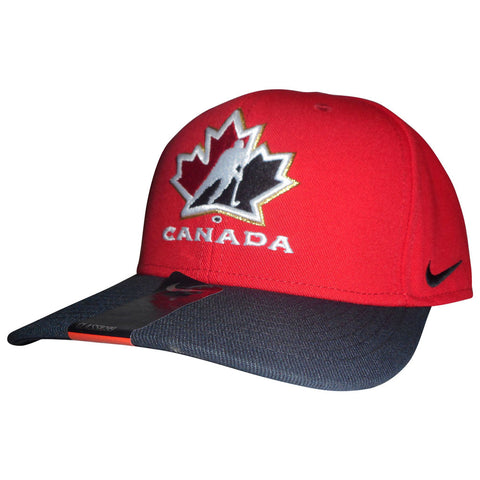Team Canada Nike Red Classic 99 Adjustable Cap - teamcanada