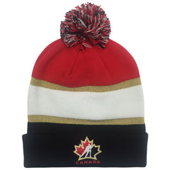 Team Canada Nike Black Pom Toque - teamcanada