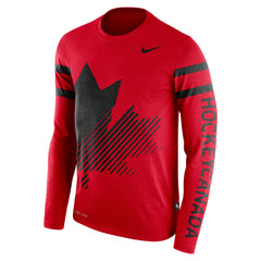 2018 Olympic Nike Red Long Sleeve Tee
