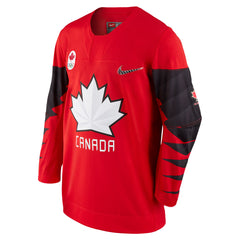 Team Canada Nike 2018 Red Olympic Jersey
