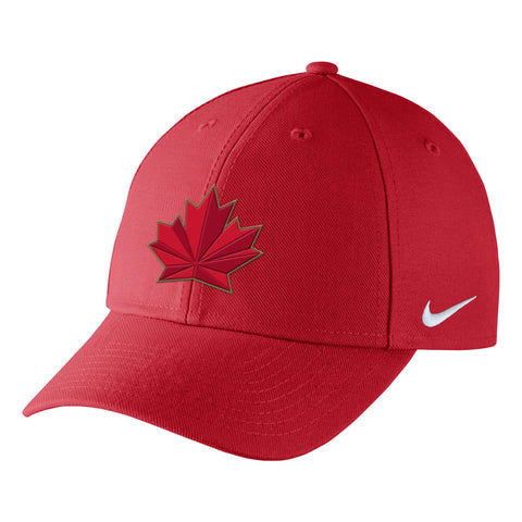 Team Canada Nike 2018 Olympic Red Dri-Fit Wool Classic
