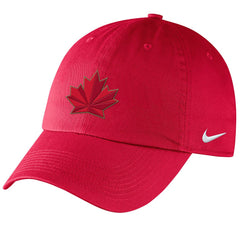 2018 Olympic Adjustable Rink Cap - Red