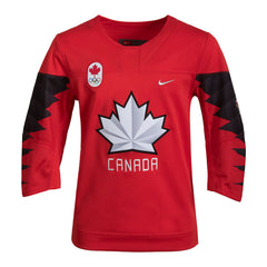 Team Canada Nike Youth 2018 Olympic Jersey Red