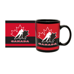 Team Canada 11oz. Stripe Ceramic Mug