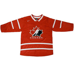 Team Canada Nike Youth Primary Jersey - Red - teamcanada