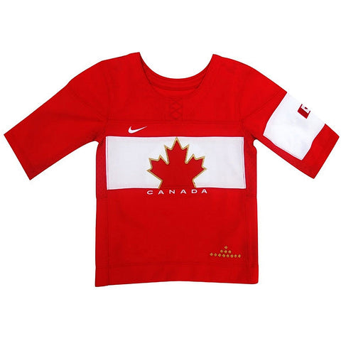 Team Canada Nike Youth Olympic Jersey - Red - teamcanada
