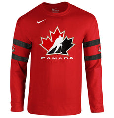 Team Canada Nike Cotton L/S Red Replica - teamcanada