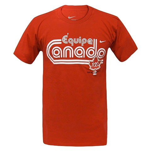 Team Canada Nike French Tee - Red - teamcanada