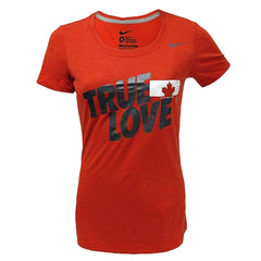 Team Canada Nike Olympic Women's Scoring Triblend 1.3 - Red - teamcanada