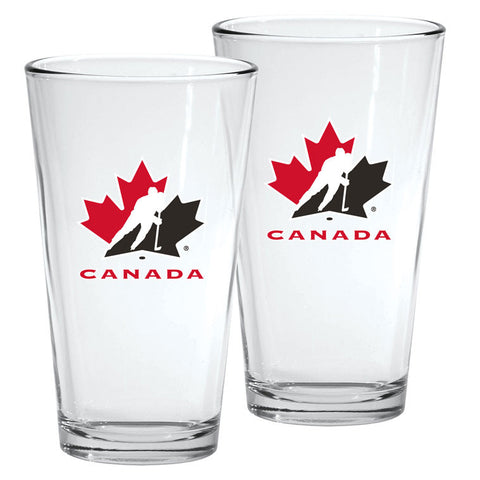 Team Canada 16oz. Mixing Glass - 2 Pack - teamcanada