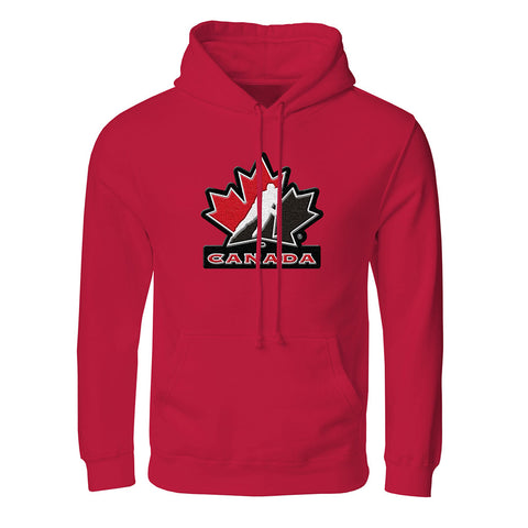 Team Canada Adult Red Hoodie
