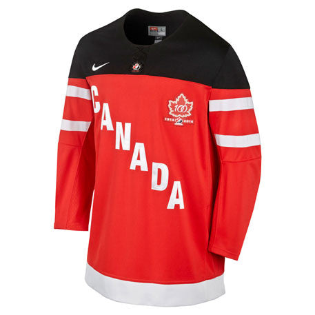 Team Canada Nike 100th Anniversary Replica Jersey - Red - teamcanada - 1
