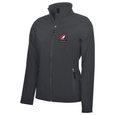 Team Canada Women's Graphite Jacket - teamcanada