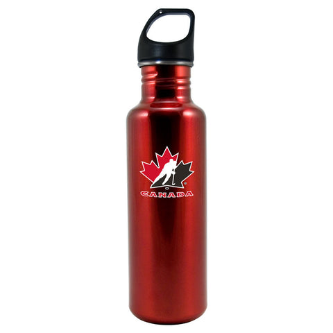 Team Canada 26oz Stainless Steel Water Bottle - Red - teamcanada