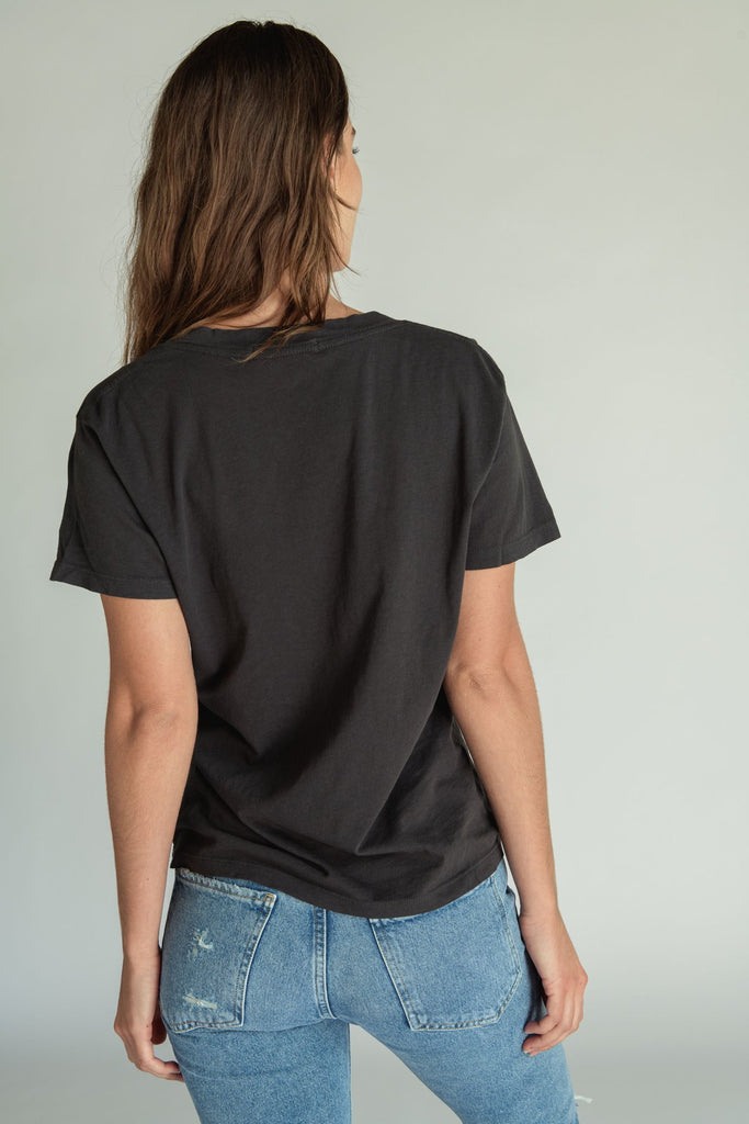 Hendrix Basic V-Neck in Vintage Black